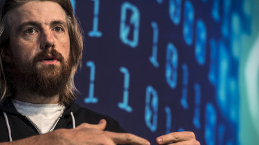"""Until BHP stops funding for coal lobbyists, we're extremely sceptical of their environmental or green credentials"": Atlassian co-founder Mike Cannon-Brookes."