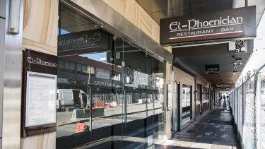 The El-Phoencian on Church Street in Parramatta.