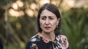 NSW Premier Gladys Berejiklian says she is growing frustrated with the Queensland government.