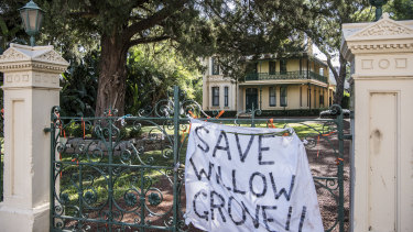 Despite strong backlash from the community, Willow Grove, built in the 1870s, will be demolished and rebuilt elsewhere to make way for the Parramatta Powerhouse.