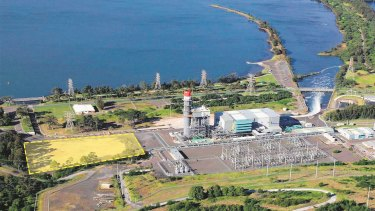The Tallawarra B plant will lie next to EnergyAustralia's existing power station in NSW.