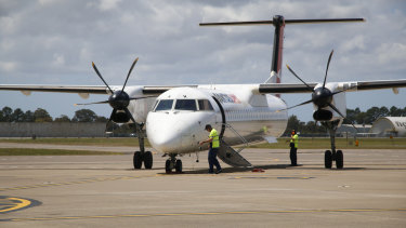 Turboprops have been flying outside approved flight paths in and out of Brisbane Airport.
