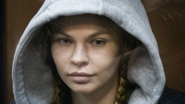 Anastasia Vashukevich was released from a prison in Moscow.