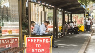 The bus shelters will be ripped up in the CBD and nearby areas as early as July.