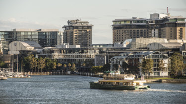 Pyrmont is already one of Australia's most populated suburbs.
