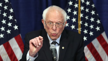 US Democratic Senator Bernie Sanders is pushing for President Joe Biden to enact bold progressive legislation.