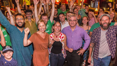 The Greens are targeting inner-city Brisbane seats.