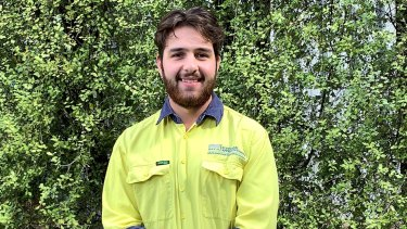 Apprentice Justin McColl is employed by NECA and still has a job.