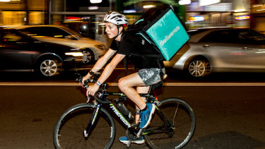 Treat food-delivery cyclists as employees, not 21st century chimney sweeps.