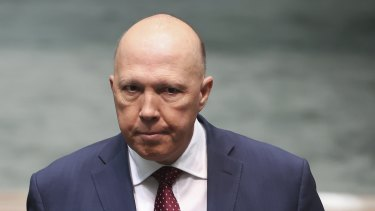 No response: the Minister for Home Affairs, Peter Dutton.