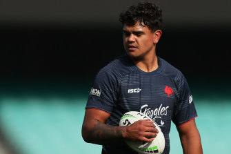 The Roosters could emerge as the final roadblock between Latrell Mitchell joining Souths.