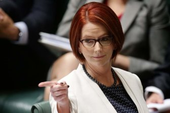Julia Gillard was popular with party members but was leading Labor to a wipe-out.