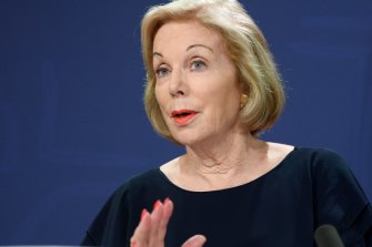 ABC chair Ita Buttrose says the broadcaster must face its challenges head-on.