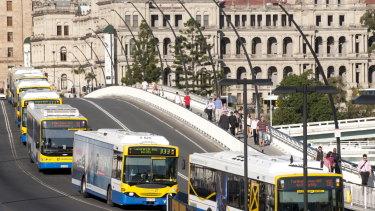 Buses will still run across the Victoria Bridge.