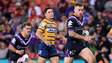 Another one: Cameron Munster runs unopposed to the try line.