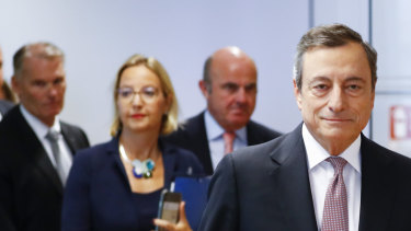The out-going president of the European Central Bank will deliver important news about quantitative easing on Thursday.
