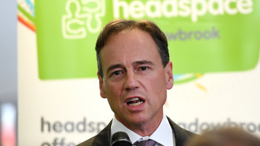 Greg Hunt has put a review of mental health MBS item numbers on hold while psychologists work out their differences.