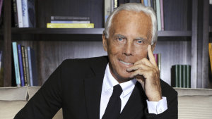 Giorgio Armani is reassessing how his fashion empire operates in the wake of the COVID-19 lockdowns.