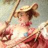 The Swing' by Jean Honore Fragonard, 1754.