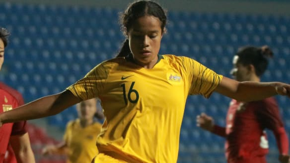 15-year-old prodigy to link up with Matildas in USA