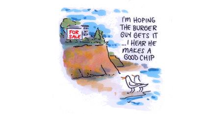 CBD Melbourne: Burger boss hunting a coastal pad