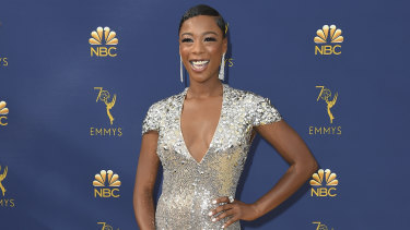 Samira Wiley won an Emmy for her guest role in The Handmaid's Tale.