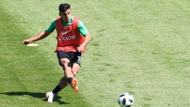 Daniel Arzani is set for a move to Celtic.