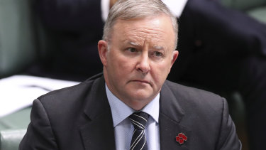 Labor leader Anthony Albanese says the party will ban all MPs from engaging in sexual relationships with staff.