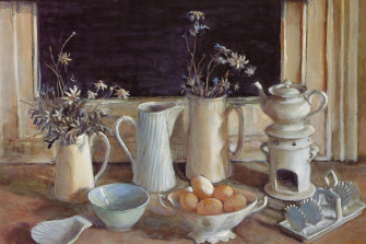 White Still Life by Margaret Olley.