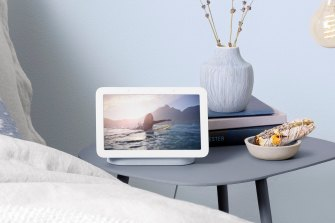 The new Nest Hub is designed for your bedside table.