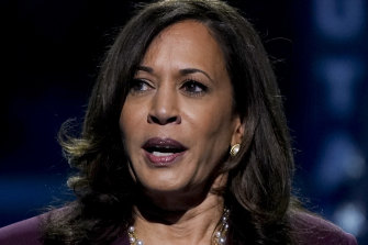 Kamala Harris and her husband reported paying about $US1.2 million in total federal taxes.