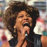 No encore: Tina Turner performing live at the 1993 NRL grand final at Allianz Stadium.