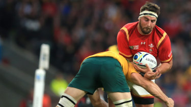 Expansion: File photo of Wales taking on Australia in the 2015 World Cup.
