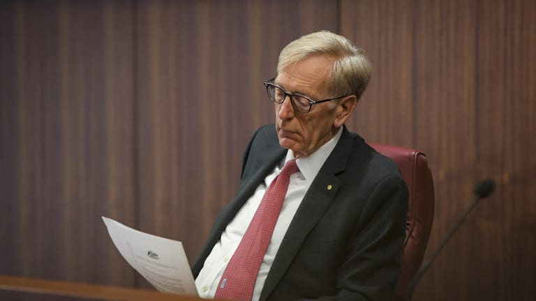 Commissioner Kenneth Hayne handed in his interim report on Friday.
