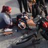 Facebook reunites Brisbane motorbike rider with good Samaritan after crash