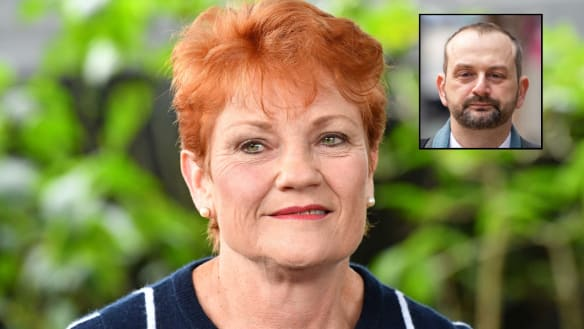 Pauline Hanson all at sea as One Nation sinks to a new low