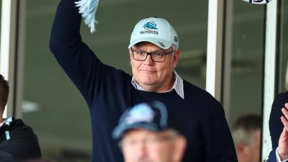 Footy's clash of the titans for Morrison and his mates