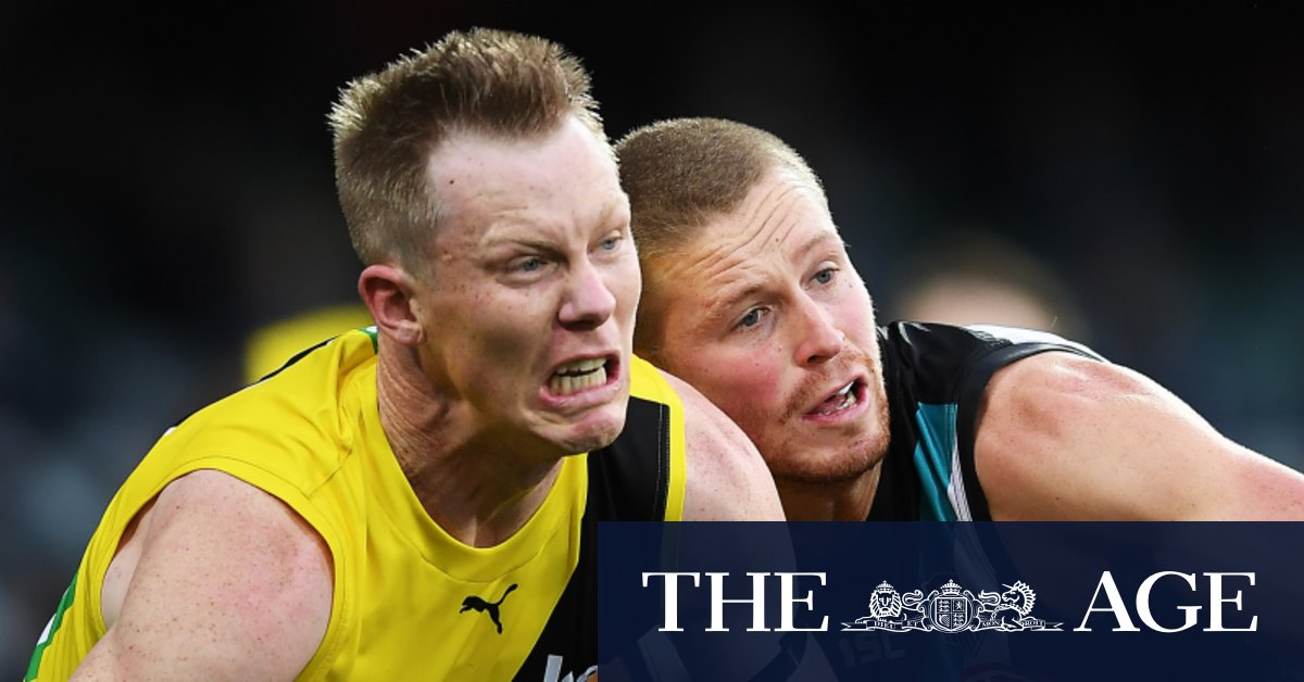 Riewoldt fined for low blow as Tigers count cost of loss to Port – The Age