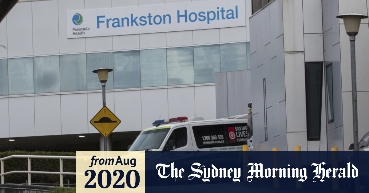 New coronavirus cases detected in Melbourne hospitals as major outbreak at Frankston infects dozens