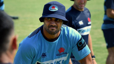 Karmichael Hunt will start at No.13 for the Waratahs on Saturday against the Sunwolves.