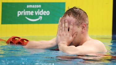 Matthew Wilson has earned a ticket to Tokyo. This was after missing qualifying in the 200m breaststroke.