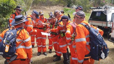 More than 100 people were involved in the five-day search, including numerous SES volunteers.