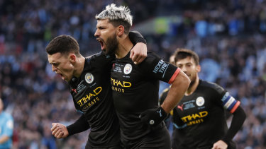 Sergio Aguero will miss Manchester CIty's Champions League second leg against Real Madrid.