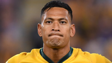 Israel Folau is proceeding with a Fair Work Commission claim against Rugby Australia and NSW Rugby.