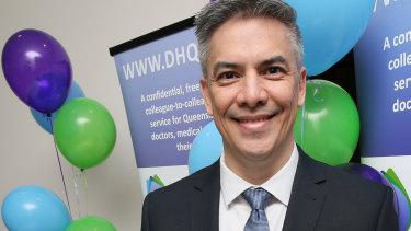 Dr Jon-Paul Khoo, of Doctors' Health in Queensland, has raised concerns about junior doctors' mental health.