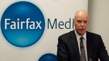 Fairfax Media chief executive Greg Hywood.