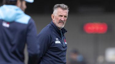 Waratahs coach Rob Penney has had a tough start at NSW.