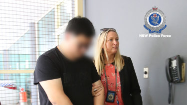 A 31-year old man was arrested at Sydney Airport as he returned from China.