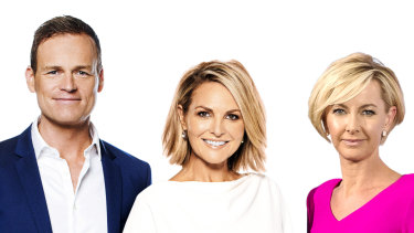 Today will be hosted by Georgie Gardner and Deb Knight in 2019 with Tom Steinfort reading the news.