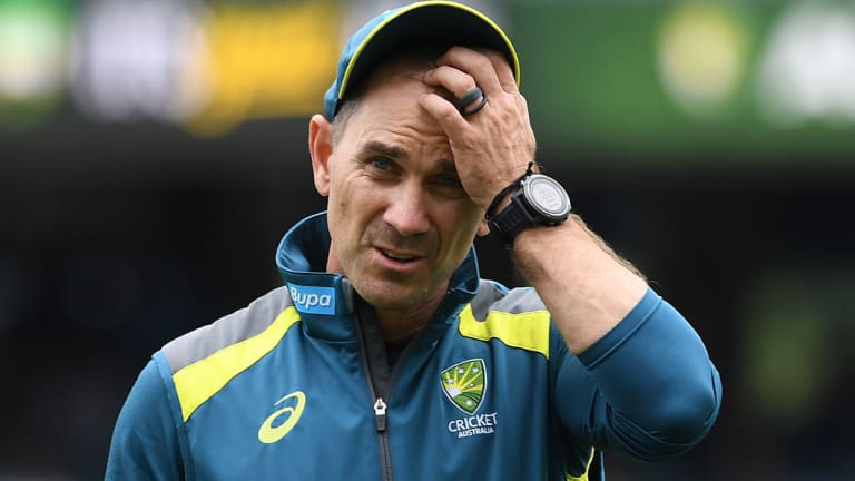 Spotlight: Criticism comes with the territory for coach and selector Justin Langer.